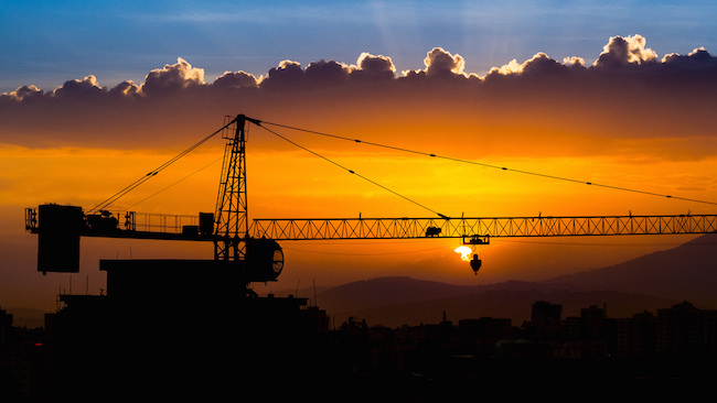 Sunset over Addis Ababa, Ethiopia, which is today booming with new construction thanks in part to Chinese investment and trade. Photo by Jean Rebiffé, via Flickr. Creative Commons.