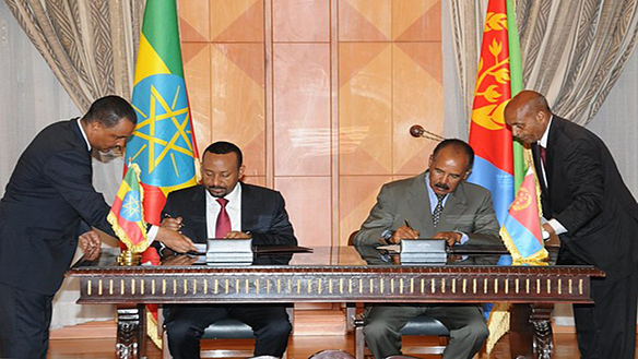 RIPPING THE BLACK CURTAIN OF ETHIO-ERITREA RELATIONS: OPPORTUNITIES AND CHALLENGES