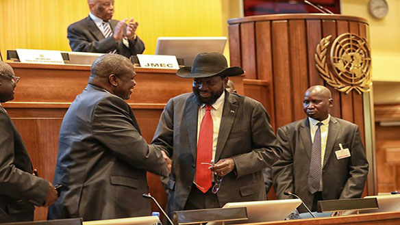 THE FRAGILE PEACE: WHAT IS THE FATE OF SOUTH SUDAN'S TRANSITIONAL GOVERNMENT OF NATIONAL UNITY?