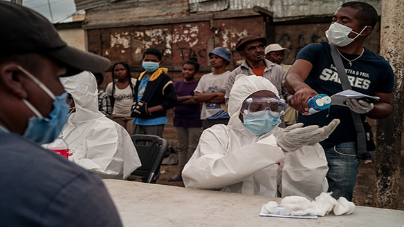 ELECTIONS, PEACE, AND MANAGING THE COVID-19 PANDEMIC IN AFRICA