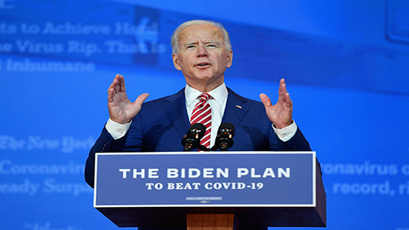 HOW BIDEN SAVES THE WORLD: HE MUST START BY RETURNING A FAVOR